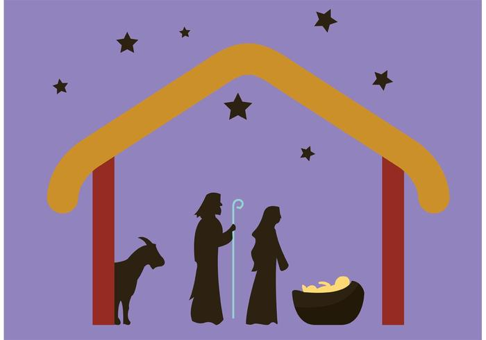 manger clipart abstract