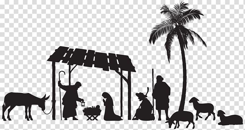 Nativity scene christmas.