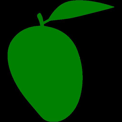Green mango png.