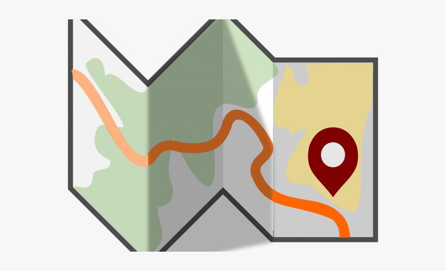 map clipart transparent background