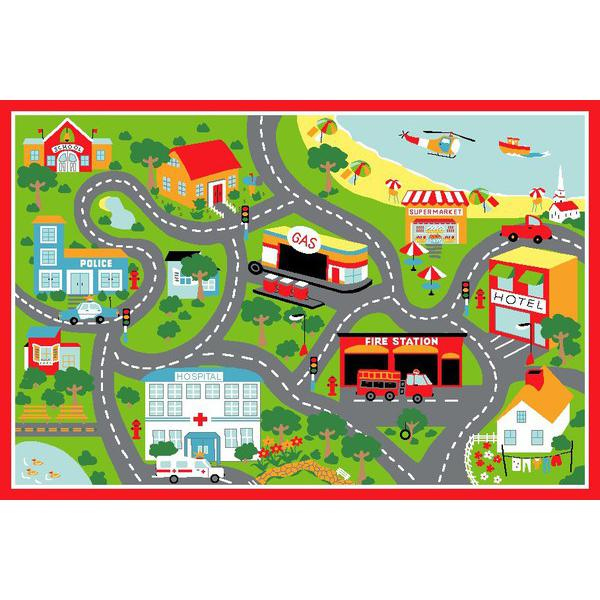 Free town clipart simple.