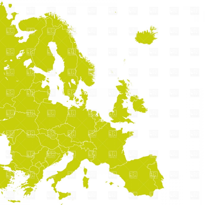 Western europe map.