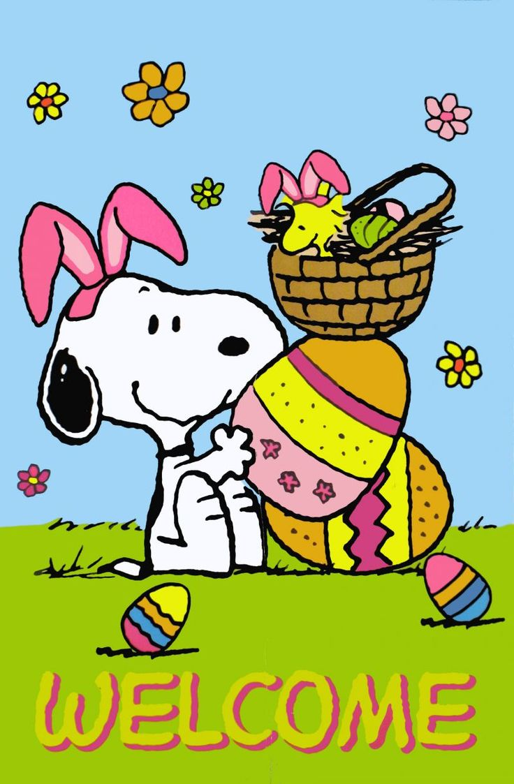 Free snoopy easter.