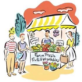 Market day clip.