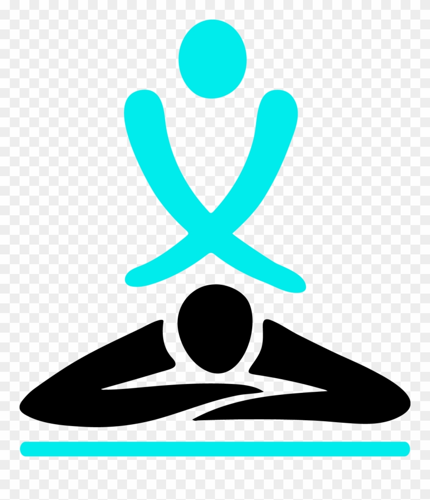 Deep Tissue Massage Icon Clipart