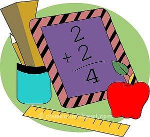 Elementary math clip.