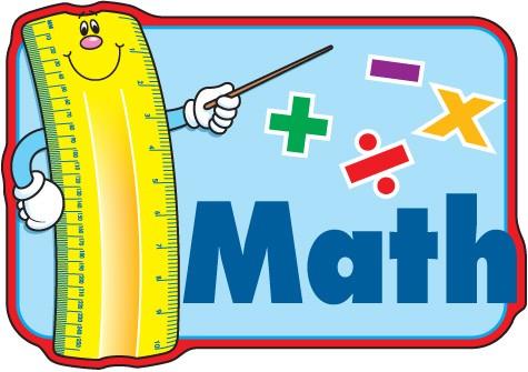 Math clip art.