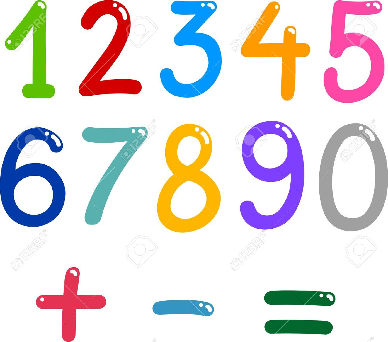 Collection mathematics clipart.