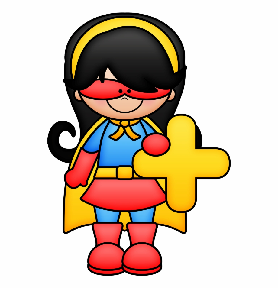 Mathematics superhero math.