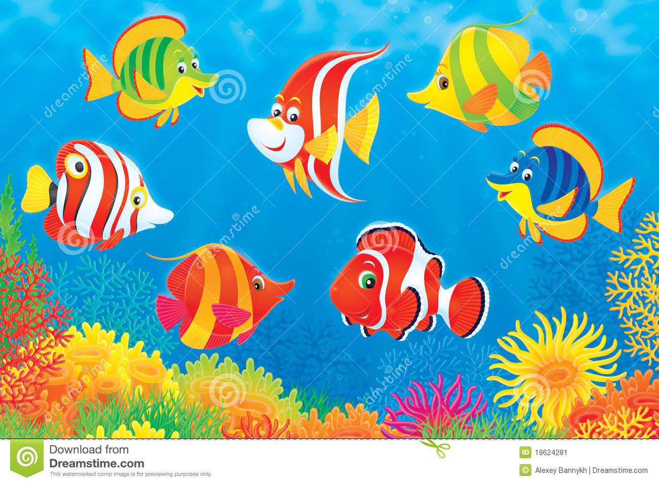 Fische meer clipart.