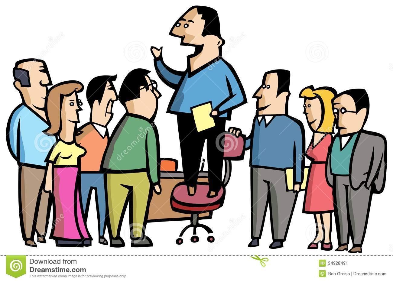 Meetings Clipart