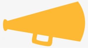 megaphone clipart orange