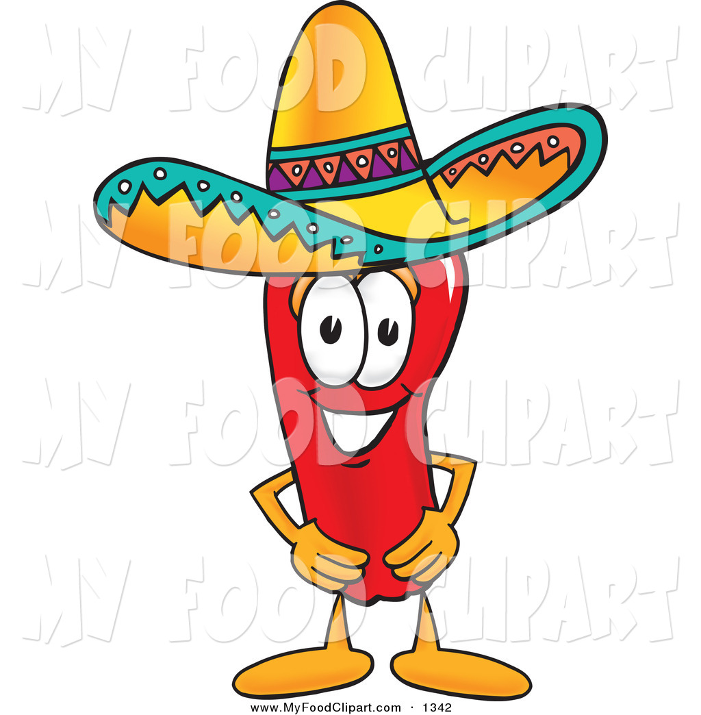mexican food clipart -taco hat