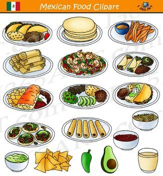 mexican food clipart -taco cuisine
