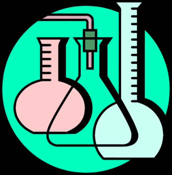 Microscope clipart chemical testing, Microscope chemical