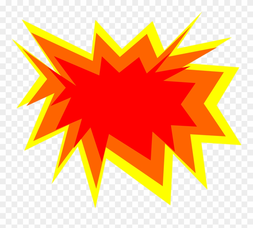 explosion clipart animated