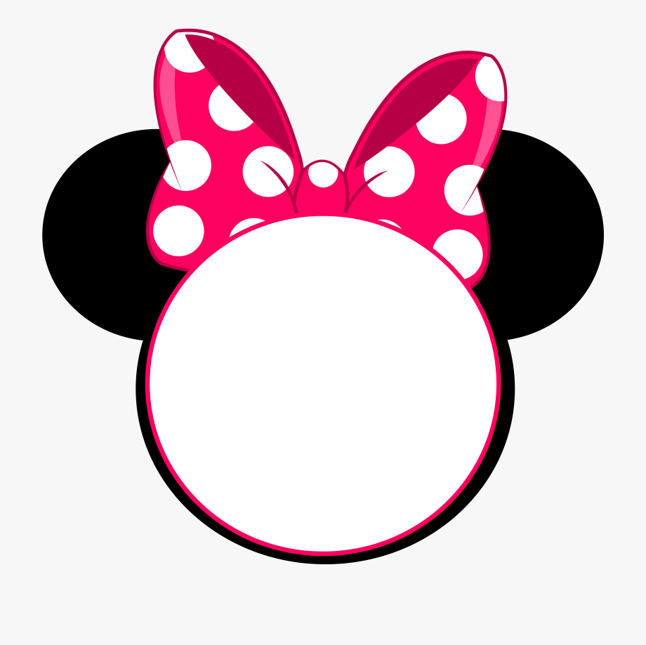 Minnie mouse crown.