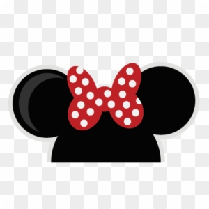 Minnie mouse ears.