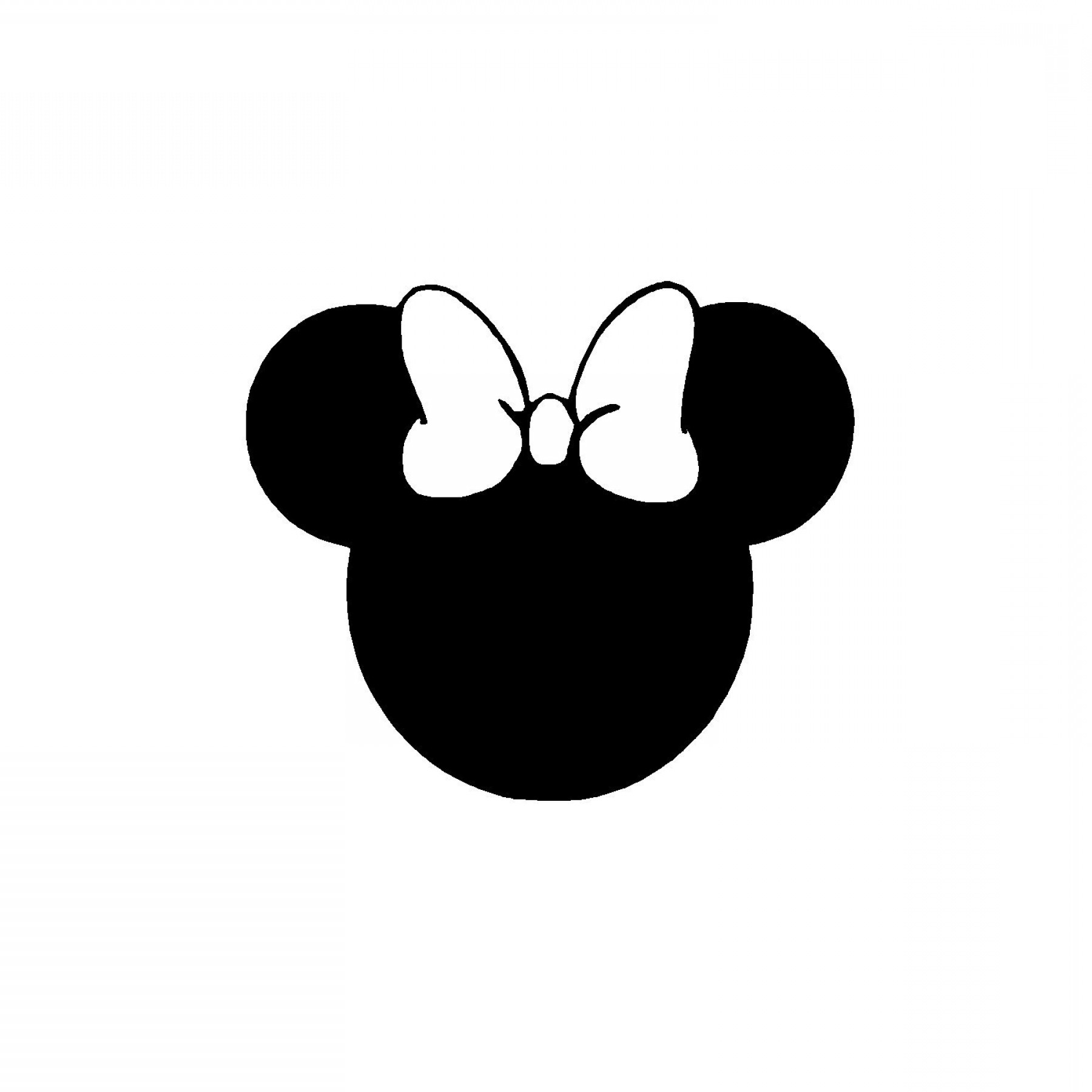 Minnie mouse vector.