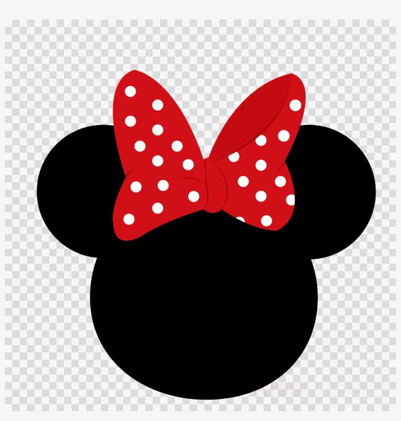 Minnie mouse head.