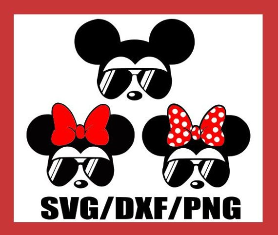 Svgsunglasses mickey and.