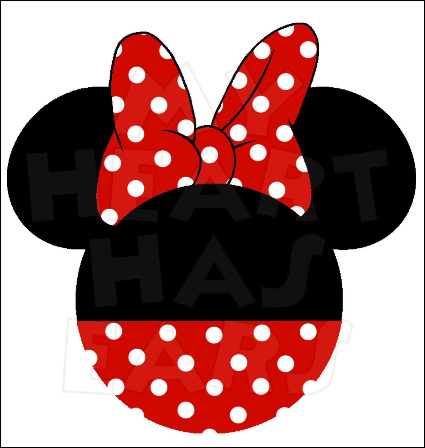 Minnie mouse ear.