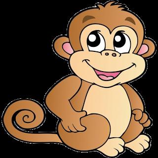 Cartoon monkey clipart pinterest. Free clip art images