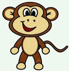 Monkey clipart google.
