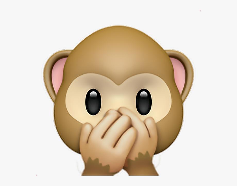 Monkey sticker speak.
