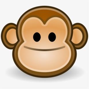 Monkey smile happy.