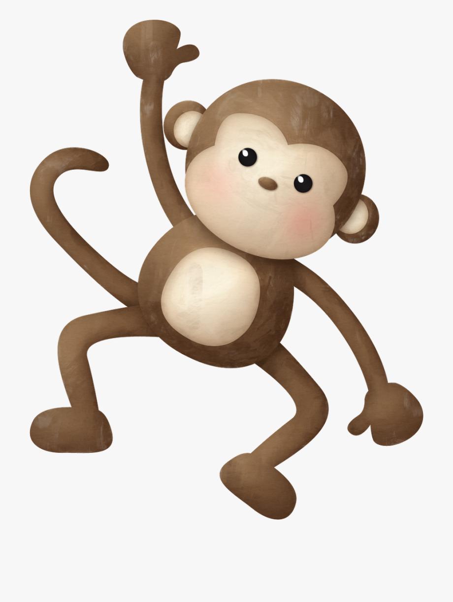 Monkey Clipart Safari Animal