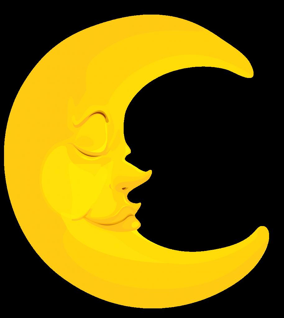 Moon clipart clipartandscrap.