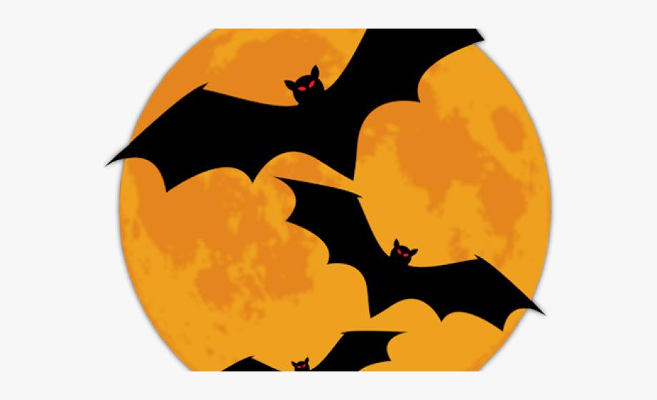 Halloween moon clipart.