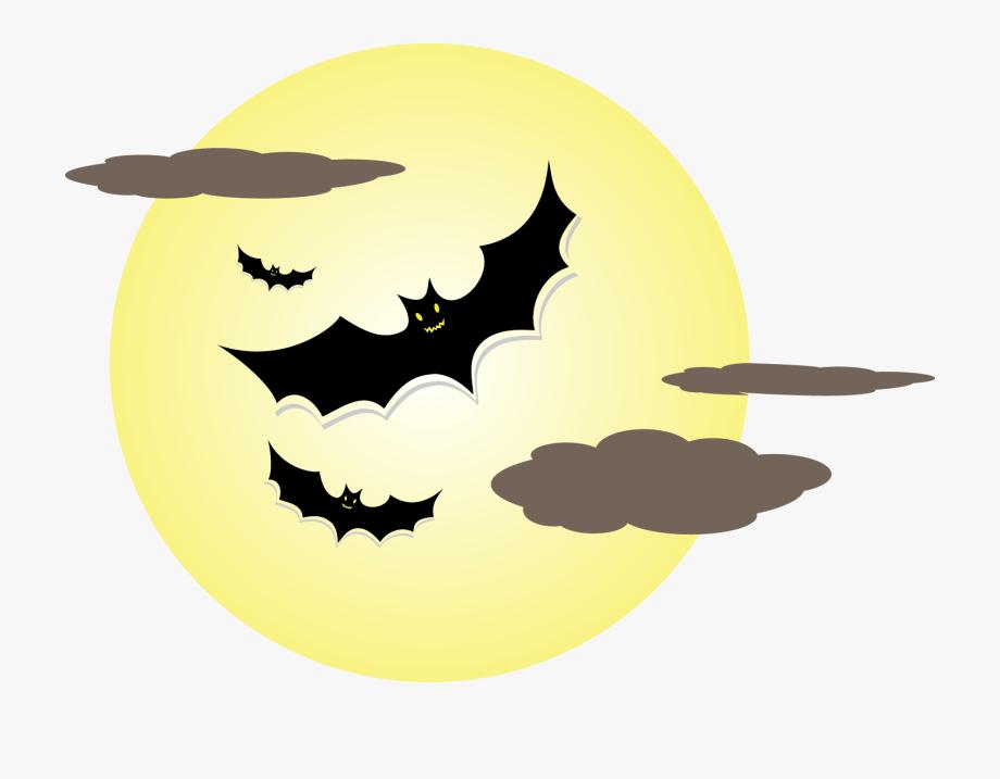 Bat moon png.