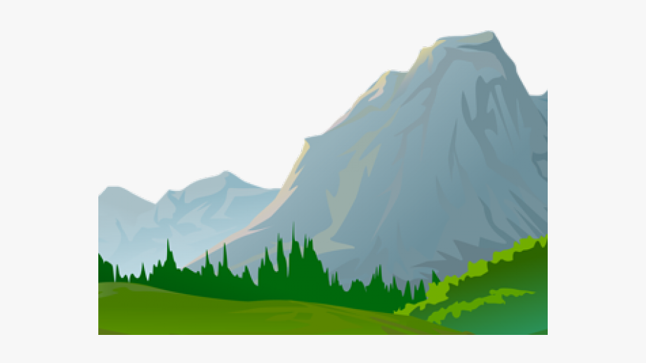Ground clipart mountain.
