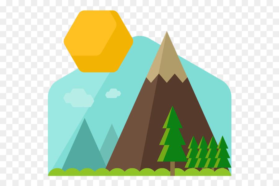 Mountain ridge clipart.