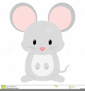 Cartoon mice clipart.