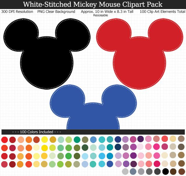 Pin printabletreatscom mickey.