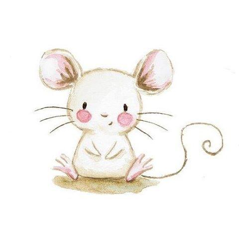 Free drawn mice.