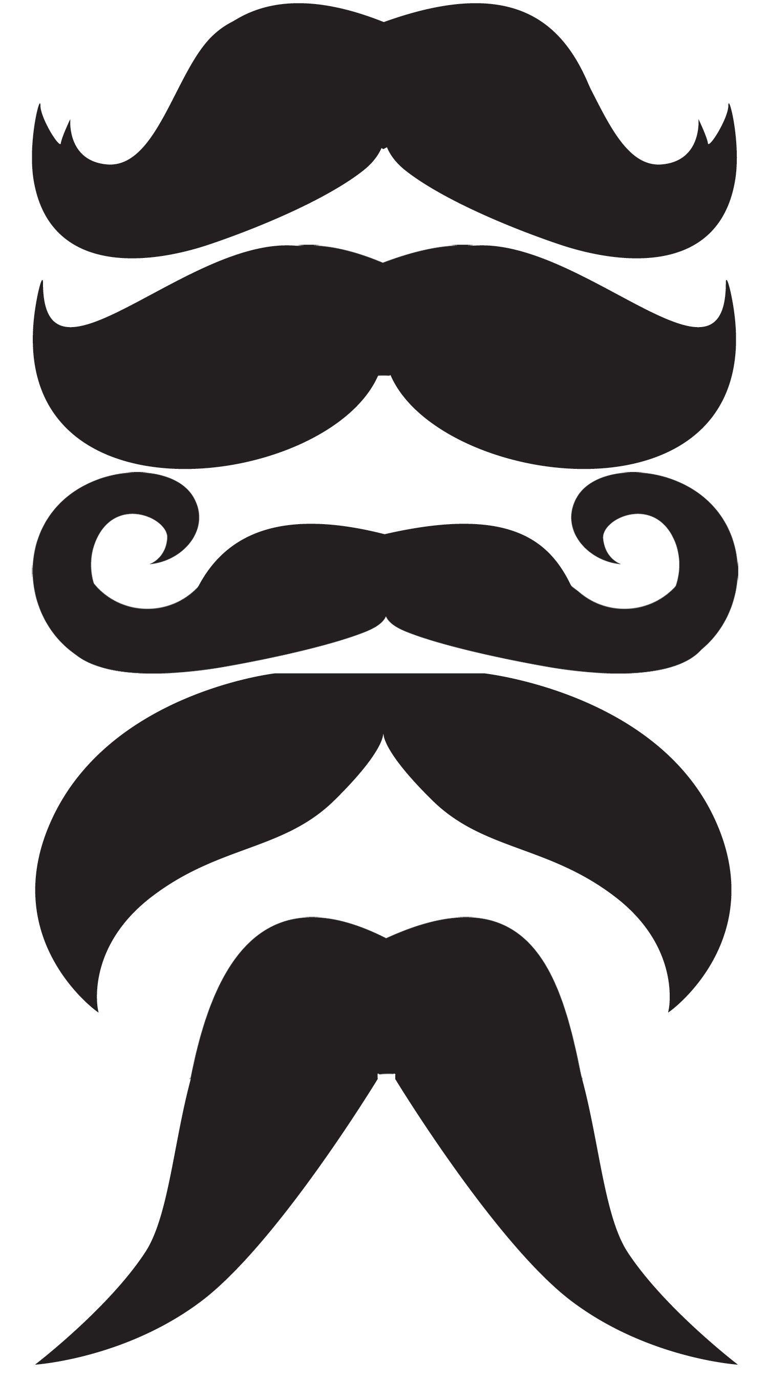 Moustache stick photo.
