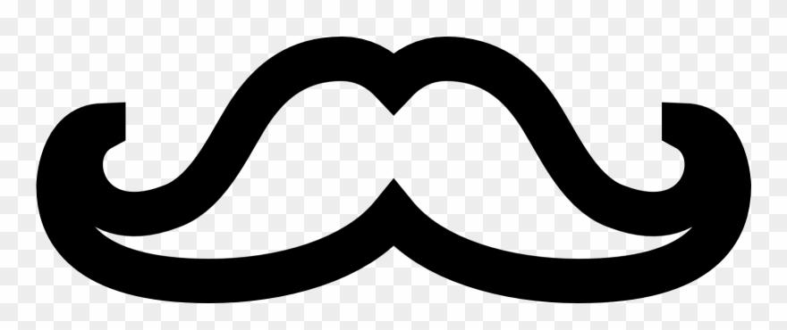 Moustache clipart english.