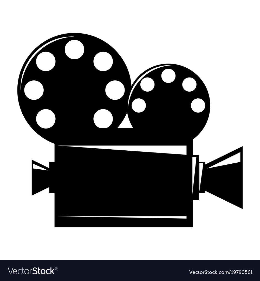 Film projector cinema camera icon