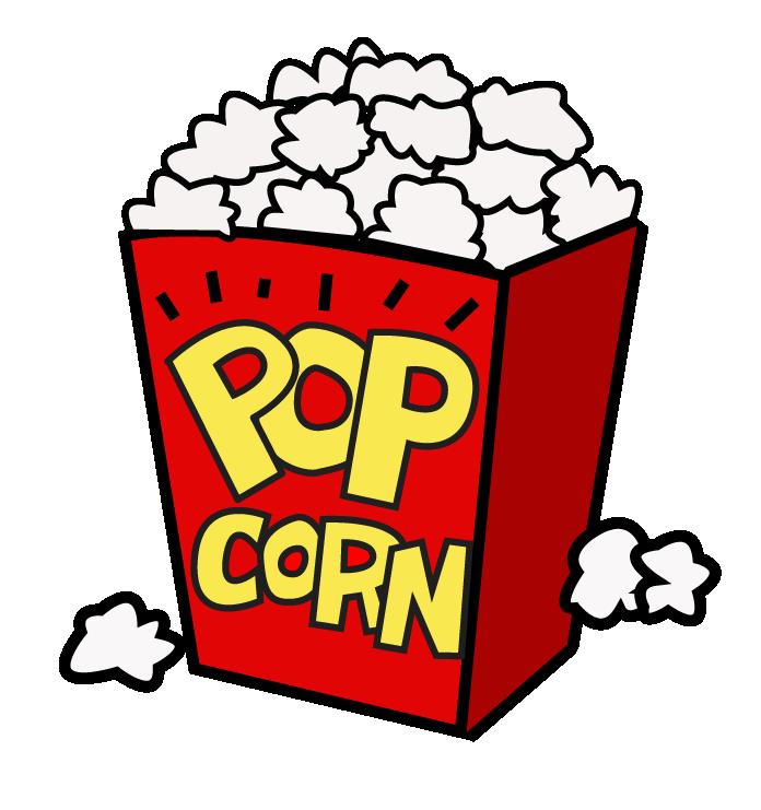popcorn clipart snack