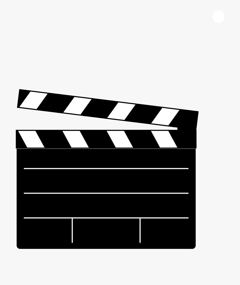 Movie clapper clip.