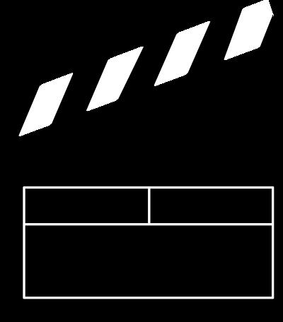 Free movie logo cliparts.