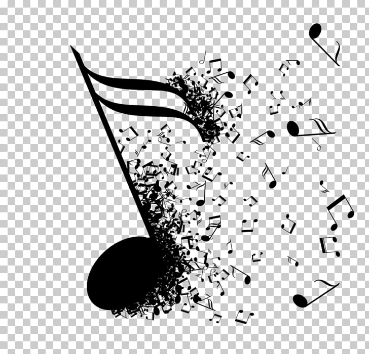 Musical note blues.