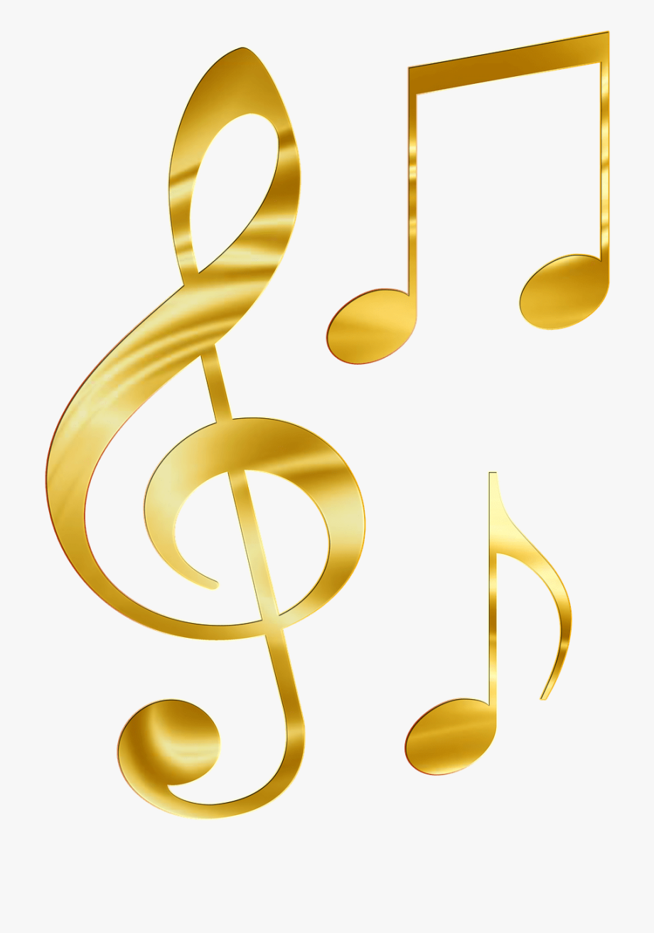 Musical notes collection.