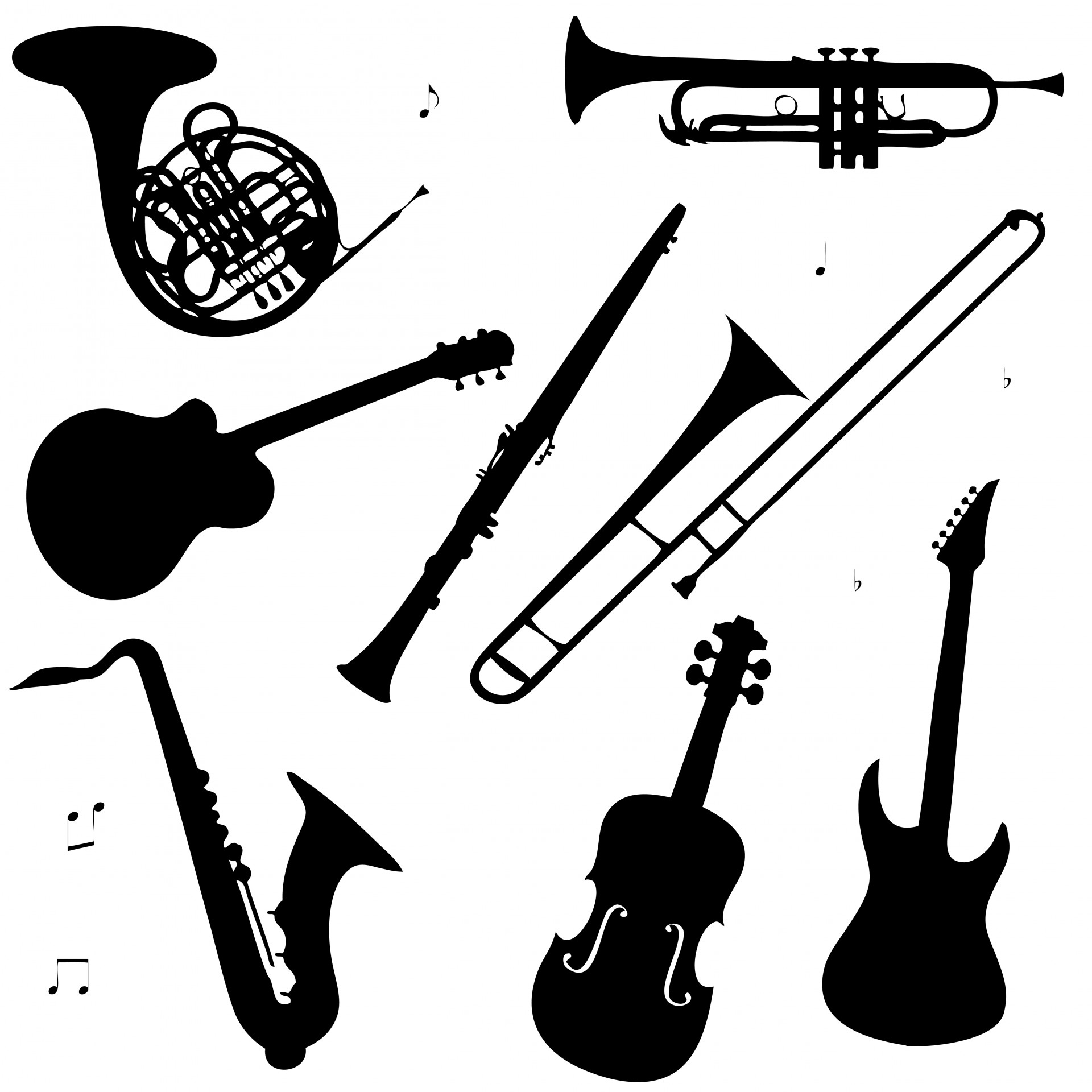Free Musical Instruments Cliparts, Download Free Clip Art