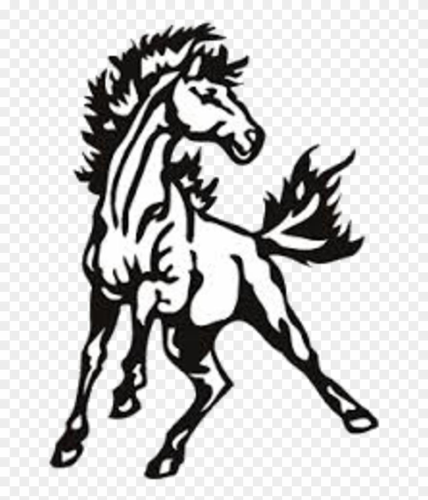 Mustang clipart pride.