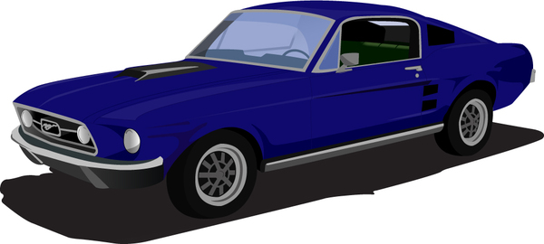 Free mustang cliparts.